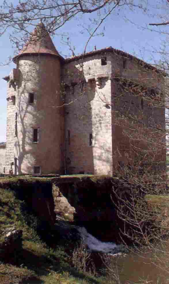 Moulin à eau fortifié de Labarthe