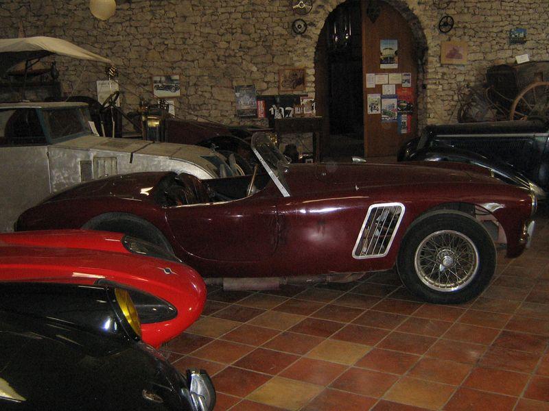 Musée Auto du château de Sanxet Pomport