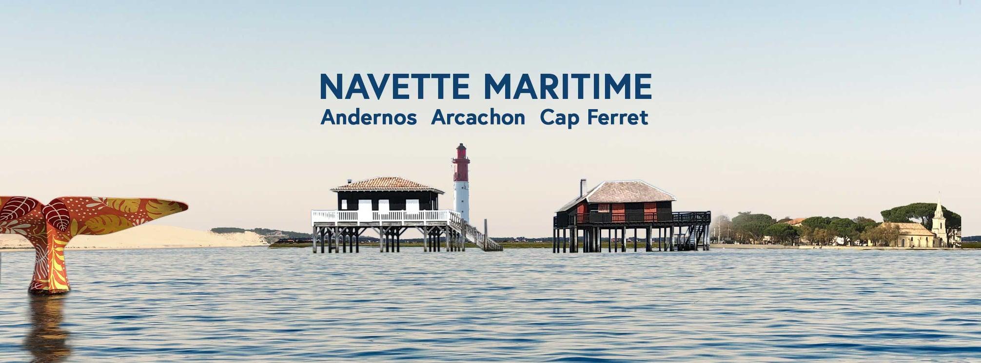 Navette maritime Le Passe Marée Andernos-Arcachon
