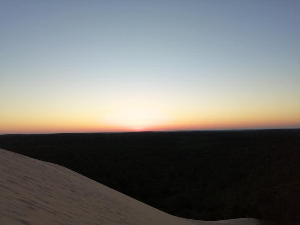 """""""NOUVEAUTE"""" Lever du soleil sur la dune du Pilat La Teste-de-Buch"""