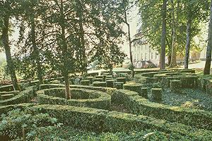 Parc et jardin de buis du Château de Caudon