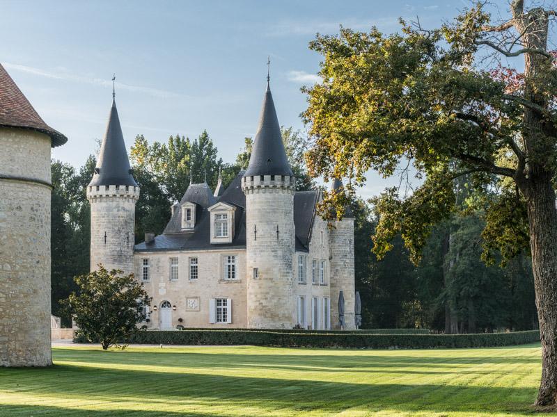 Parc et pigeonnier du château d'Agassac Ludon-Médoc
