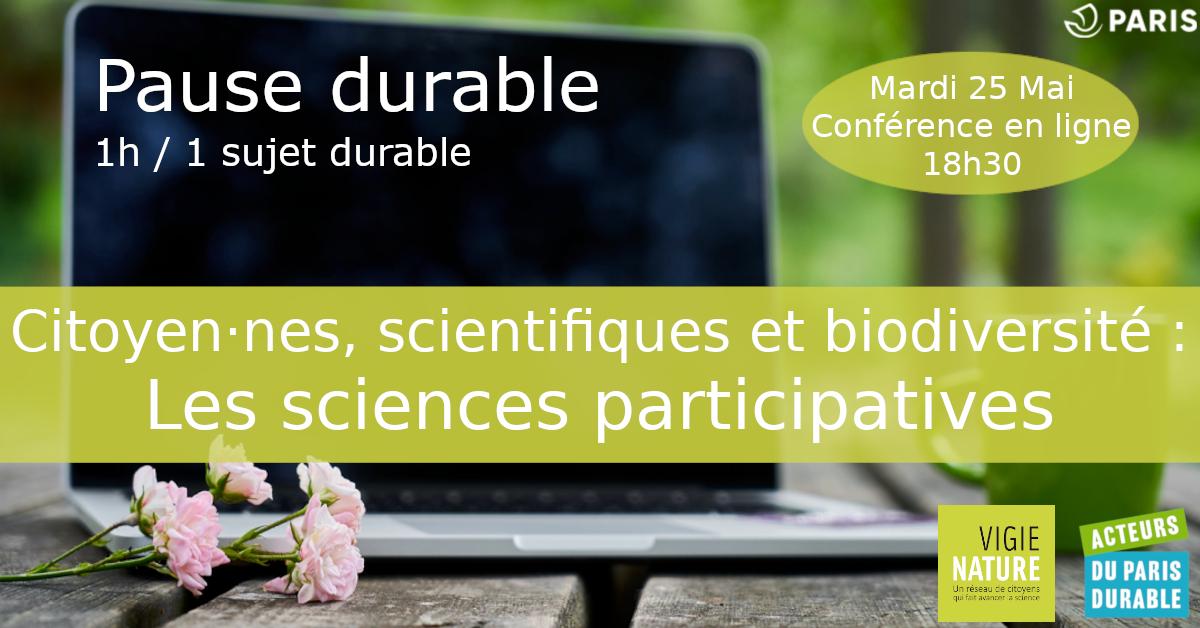 Pause durable : Les sciences participatives En ligne