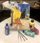 Peindre à la manière de Vincent van Gogh Mercure Montmartre Paris
