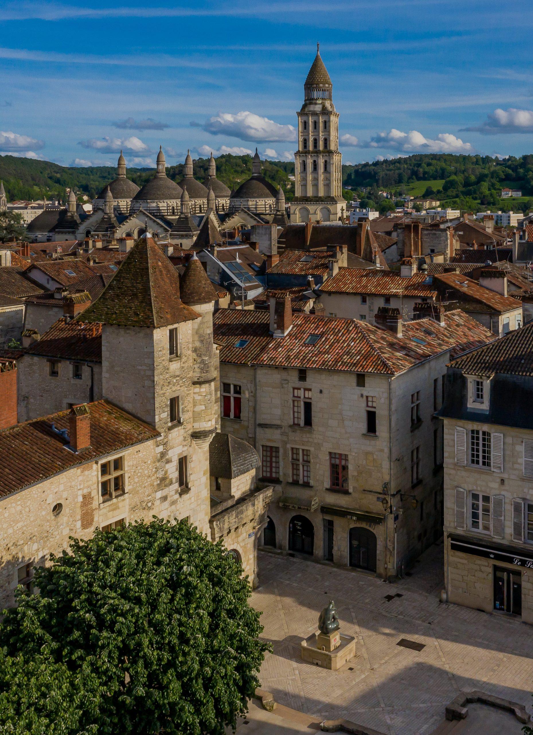 Périgueux - Le Puy saint-Front au Moyen Age