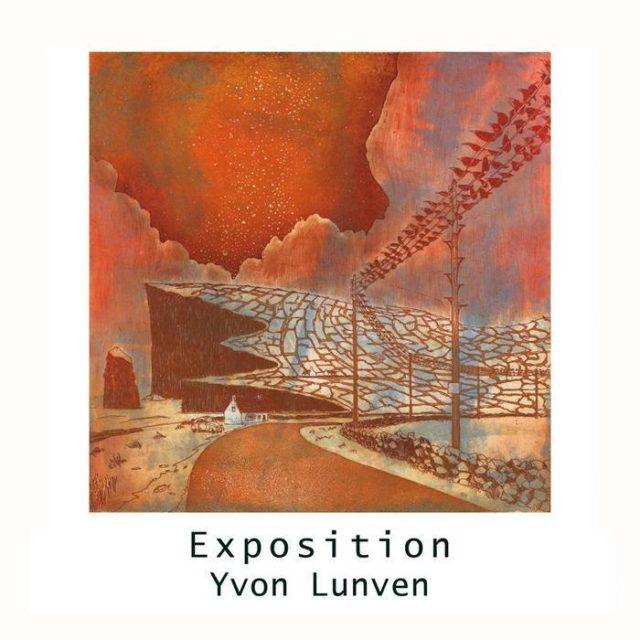 Exposition de l'artiste Yvon Lunven rue de la Victoire - Locmariaquer Locmariaquer