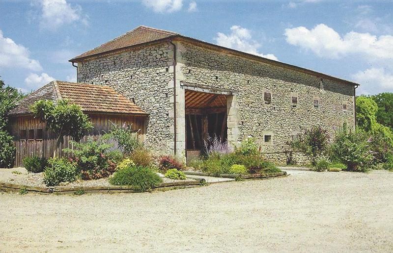 Séchoir à tabac en pierre de Loubens Loubens