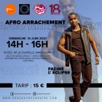 """Stage de danse afro """"arrachement"""" avec Faciné L'Eclipse (In Centre Sportif Micheline Ostermeyer (ex Pajol) Paris"""