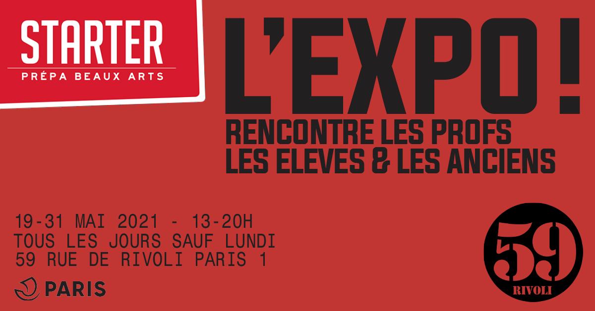 STARTER - Prépa Beaux Arts 59 Rivoli Paris
