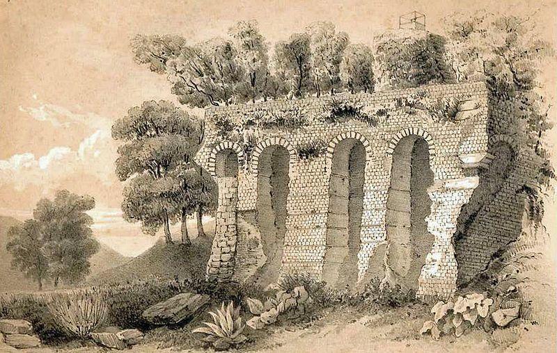 Structures antiques d'Aiguillon