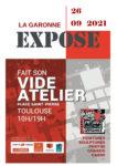 La Garonne expose fait son Vide atelier 2021 Toulouse