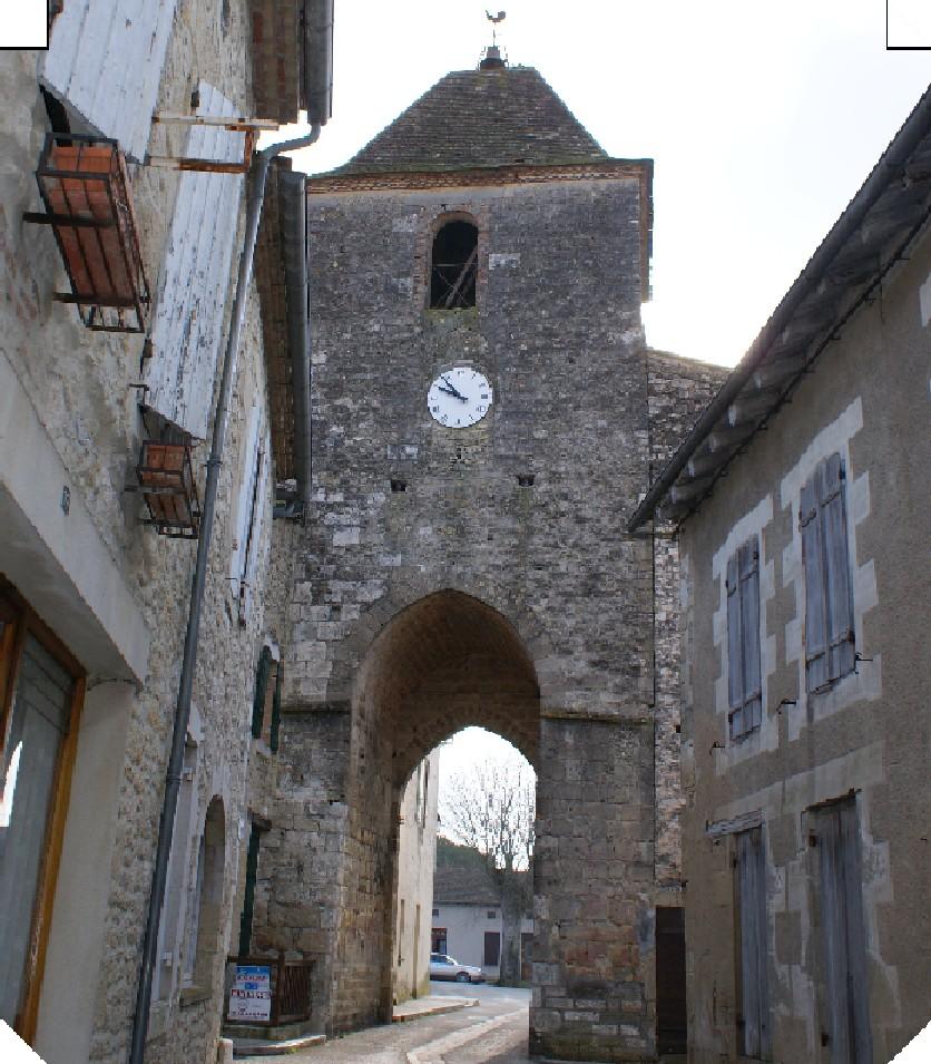 Tour de l'Horloge XIIème-XVIIème siècles Duras