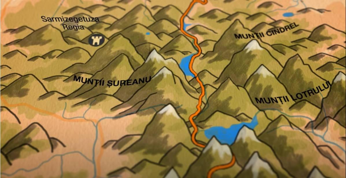 plan route des rois roumanie