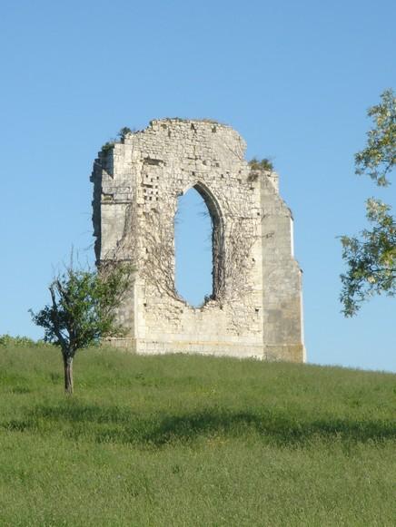 Vestiges de l'Abbaye de l'Isle