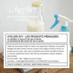 App'Art - Atelier produits ménagers maison Thiron-Gardais