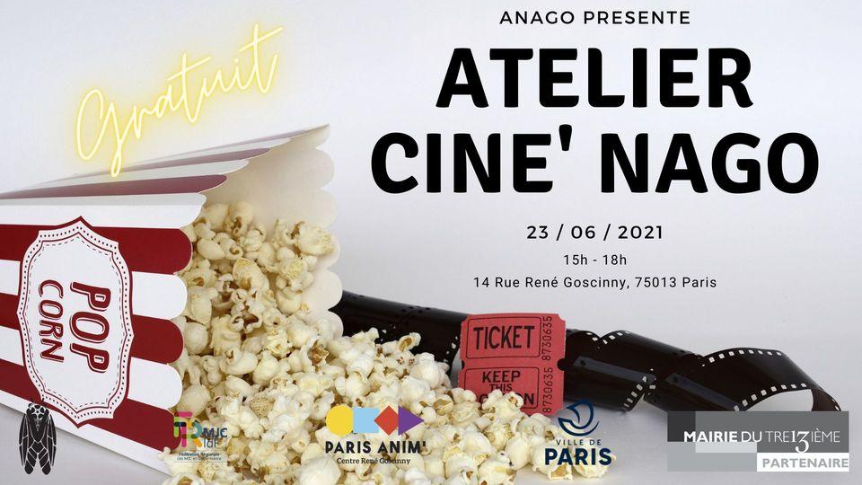 Atelier Ciné'Nago – au Centre Goscinny Centre Paris Anim' René Goscinny