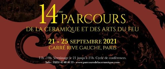 14eme Parcours de la Céramique et des Arts du Feu Carré Rive Gauche Paris