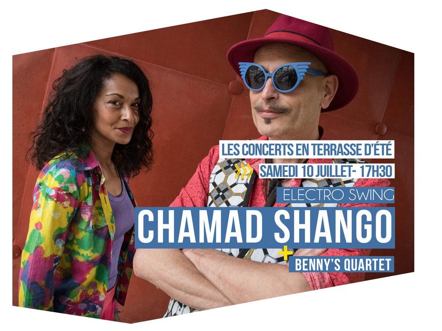CHAMAD SHANGO + BENNY'S QUARTET L'ODÉON – Scène Musicale de Tremblay