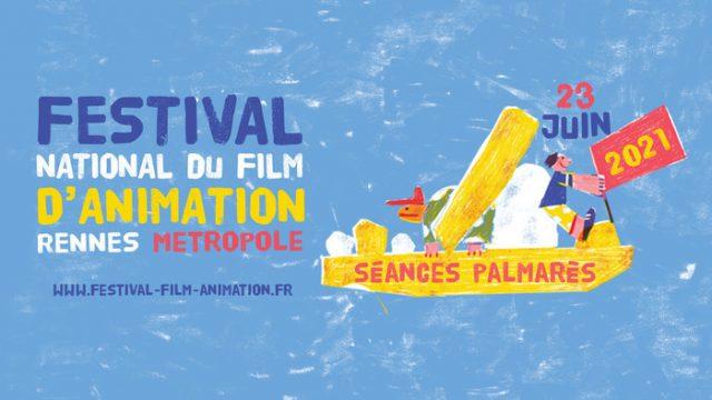 Palmarès adulte du Festival national du film d'animation 2021 Cinéma Arvor Rennes