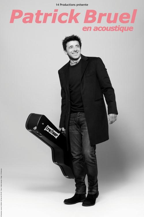 """Concert de Patrick Bruel """"Tournée acoustique 2021"""" Arcachon"""