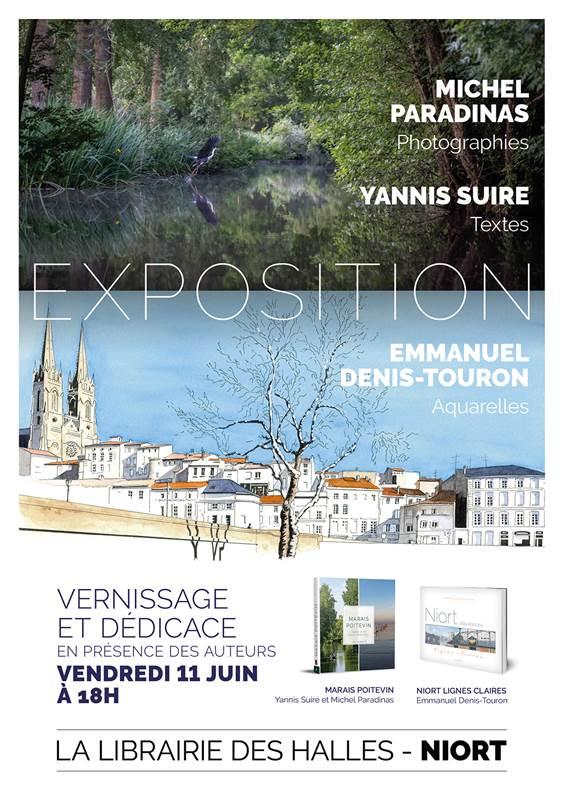 Exposition «Marais Poitevin» et «Niort lignes claires» Niort