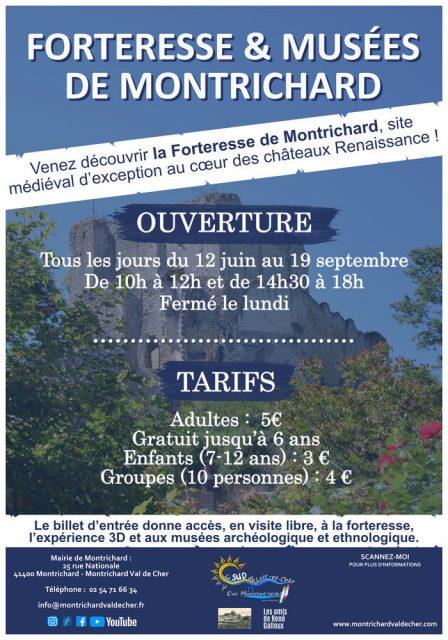 La forteresse et ses musées Forteresse de Montrichard Montrichard Val de Cher