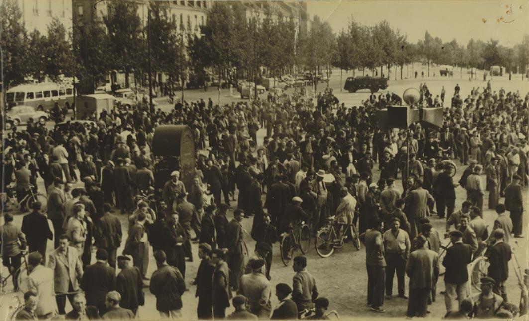 grève saint nazaire 1955