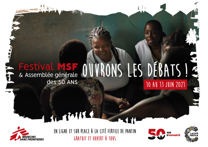 Festival MSF: Ouvrons les débats ! La Cité Fertile