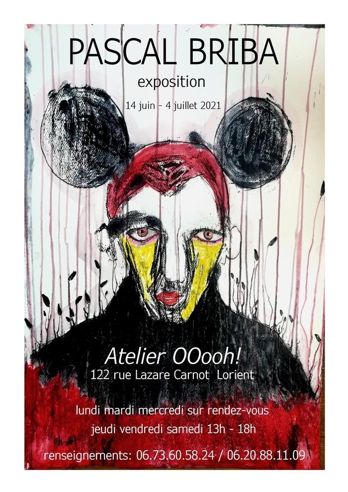 Pascal Briba Exposition Lorient 122 rue Lazare Carnot Lorient