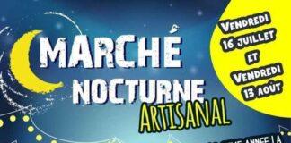 Marché nocturne artisanal Bar-sur-Aube