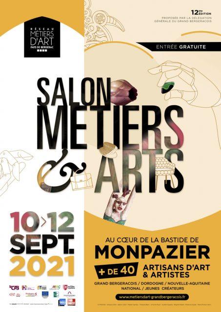 """Salon """"Métiers & Art"""" - 10 au 12 septembre 2021 - Monpazier monpazier"""
