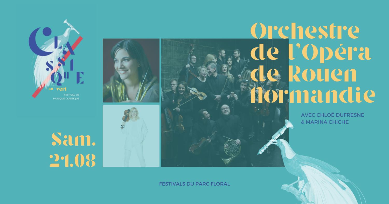 Orchestre de l'Opéra de Rouen – Normandie Parc Floral de Paris