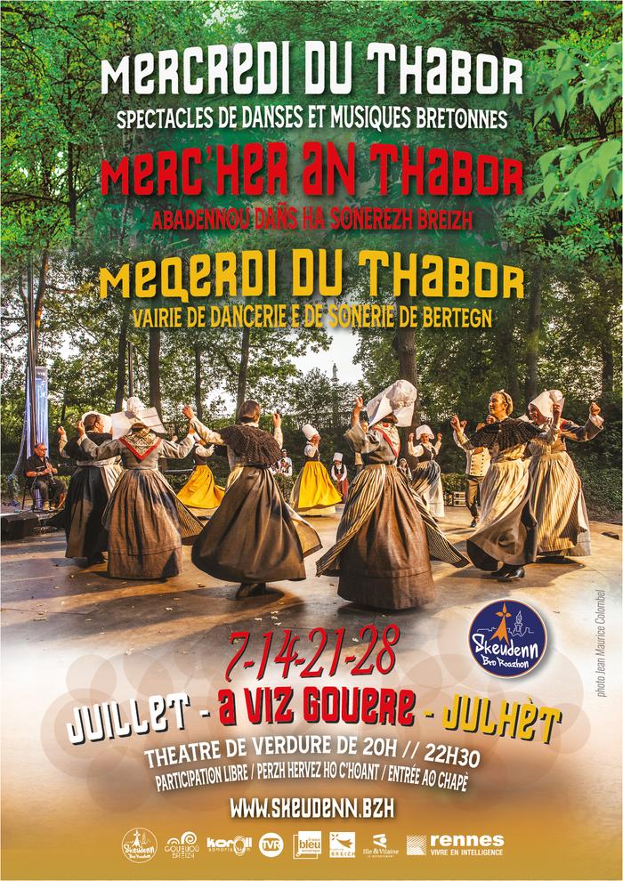 Merc'her an Thabor / Meqerdi du Thabor / Mercredi du Thabor Parc du Thabor Rennes