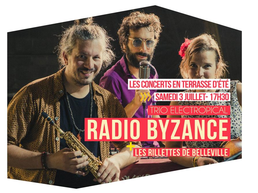 RADIO BYZANCE + LES RILLETTES DE BELLEVILLE L'ODÉON – Scène Musicale de Tremblay