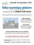 Rallye touristique pédestre Marcé-sur-Esves   2021-09-18