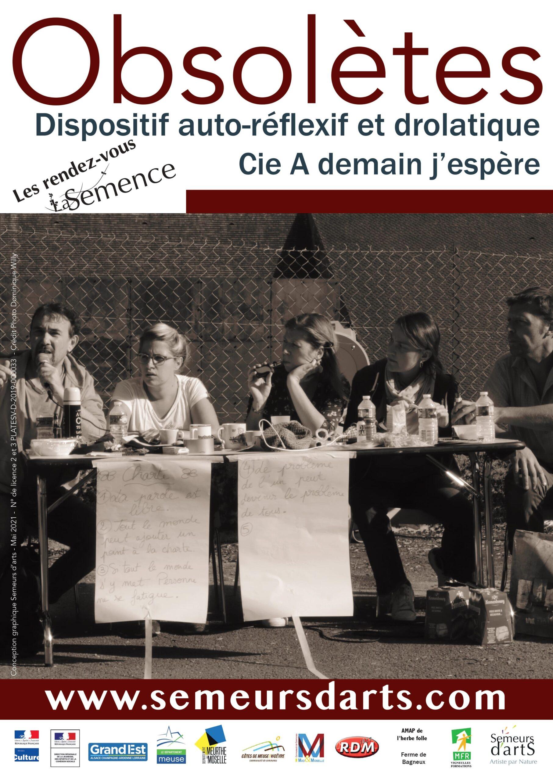 SPECTACLE INCLUSIF ET PARTICIPATIF   OBSOLÈTE S PAR LA CIE A DEMAIN J'ESPÈRE Vernéville   2021-06-26