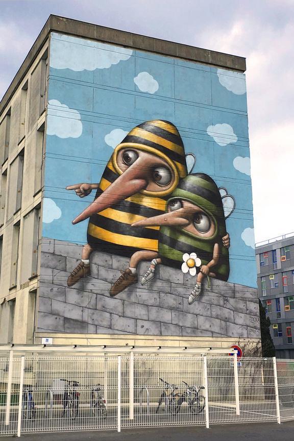 ador graffiti rennes