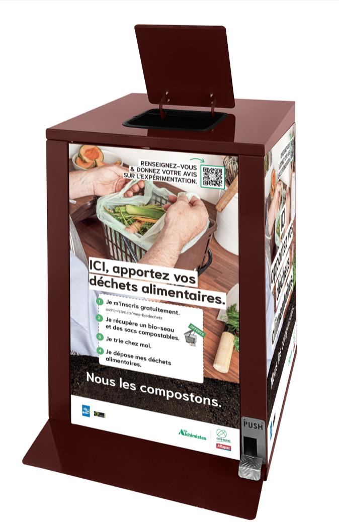 Triez et compostez vos déchets alimentaires dans le 13ème ! Centre Paris Anim' René Goscinny