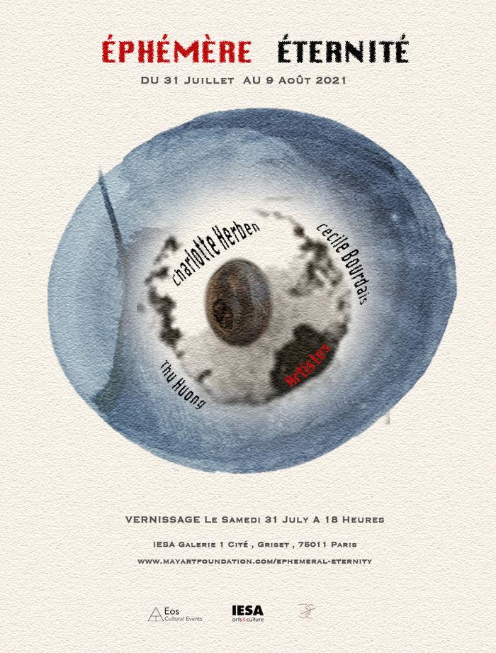 Exposition Vernissage < Éphémère Éternité> à Paris 1Cité Griset Paris