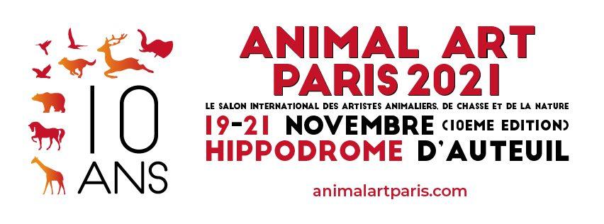 ANIMAL ART PARIS 2021 Tribunes de Hippodrome d'Auteuil Paris