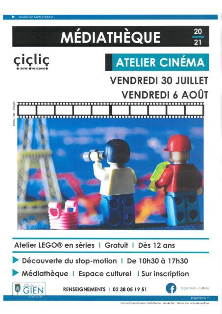 Atelier Cinéma - LEGO EN SERIE Gien