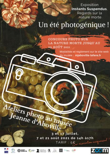 Atelier photographique au Musée Jeanne d'Aboville La Fère