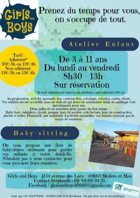 Ateliers des minis Moliets-et-Maa   2021-07-07
