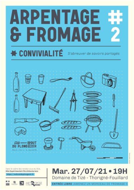 Arpentage et fromage Au bout du plongeoir Thorigné-Fouillard