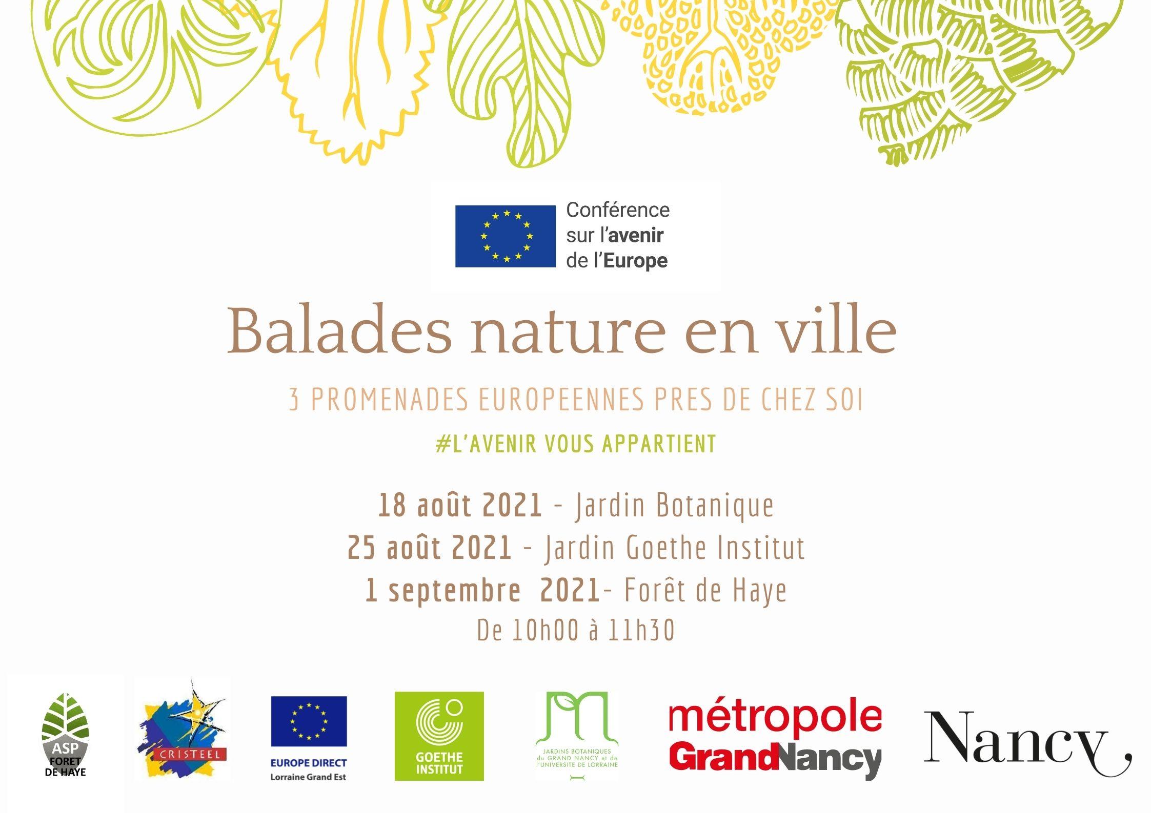 BALADES NATURE EN VILLE Villers-lès-Nancy   2021-08-18
