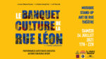 Banquet Culture de la rue Léon #2 Lavoir Moderne Parisien Paris