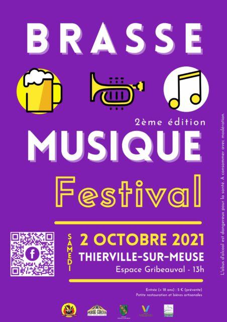 BRASSE MUSIQUE FESTIVAL 2021 Thierville-sur-Meuse   2021-10-02