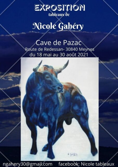 Exposition de tableaux Cave de Pazac (30840) Meynes