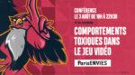 Comportements toxiques dans le jeu vidéo Level 256 | Paris&co Paris