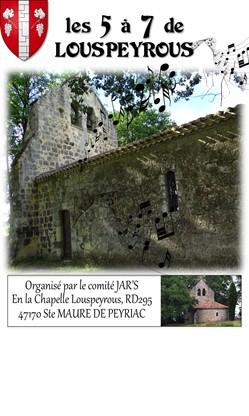 Concerts : Les 5 à 7 de Louspeyrous Sainte-Maure-de-Peyriac